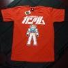 T-Shirt เสื้อยืดกันดั้ม Mobie Suit Gundam (Zaku II) สุดเท่ห์ สีส้ม จากร้าน GUNZU !!โปรโมชั่น