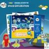 Joan Miro Reusable sticker pad - Space Exploration สมุดภาพสติกเกอร์แปะแล้วแกะได้