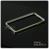 เคส Samsung Galaxy J7 ขอบกันกระแทก Bumper (สีเงิน / ขลิบทอง)