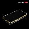 เคส Lenovo A7000 / A7000+ / K3NOTE ขอบกันกระแทก Bumper (สีเงิน / ขลิบทอง)