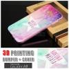 เคส Samsung Galaxy A8 Bumper + Cover พิมพ์นูน สามมิติ (แบบสไลด์) ลาย F