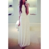 zanzea Women Bridesmaid Lace Prom Gown Formal Evening PartyCocktail Long Maxi Women - Dresses White