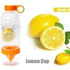 Juice Source ขวดทำ Infused Water สีส้ม 700 ml.