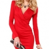 Off Shoulder Short Sleeve Women Mini Lace Women - Dresseses (Black)