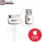 Remax Safe & Speed - สายชาร์จ iPhone 4 / 4S