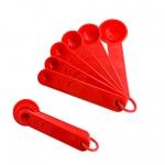 ช้อนตวงพลาสติกขนาดเล็ก0713017สีแดงcn
