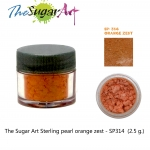 The Sugar Art Sterling pearl orange zest - SP314 (2.5 g)