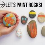 Joan Miro DIY Rock Painting Kit And Book ชุดศิลปะเพ้นท์หิน