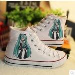 รองเท้าผ้าใบ Hatsune miku ver3