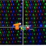 ไฟตาข่าย LED สีแดง ขนาดเล็ก