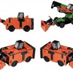 TP002 Bandai VooV TRansformer Car-VM01