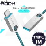 สายชาร์จ Rock รุ่น Cobblestone Type C Round Cable