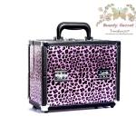 กระเป๋าเครื่องสำอาง กล่องเครื่องสำอาง BeautysecretD Fortress Vintage Cosmetic BagCase (Limited) - สีม่วง