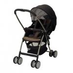 รถเข็นเด็ก Aprica รุ่น Karoon Plus สีน้ำตาล สำหรับเด็กแรกเกิด - 3 ปี หรือ น้ำหนัก 2.5 - 15 kg. (สินค้าสั่งจอง)