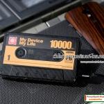 พาวเวอร์แบงค์ Remax Powerbank รุ่น RP-T10 Tape 10000 mAh สีดำ