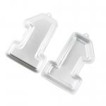 พิมพ์เค้ก 3D อลูมิเนียม รูปเลข 1 รุ่น TC1141 (Aluminum cake pan No.1 shape)