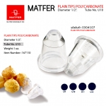Matfer U10 PLAIN TIPS POLYCARBONATE (167110)