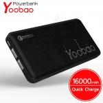 Powerbank Yoobao P16QC - แบตสำรอง 16000 mAh รองรับ Quick Charge 2.0