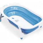 KARIBU อ่างอาบน้ำเด็กพับเก็บได้ สีฟ้า