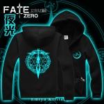 Preorder เสื้อแจ็คเก็ตฮู้ดดี้ FATE ZERO ลายเรืองแสง