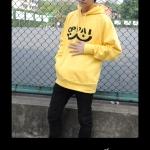 Preorder เสื้อฮู้ดดี้ OPPAI (สีเหลือง)
