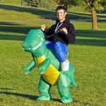 Preorder ชุดปาร์ตี้ไดโนเสาร์เป่าลม Inflatable Dinosaur Costume