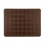 Silicone macaron mat ขนาด 40*30 cm 48 หลุม