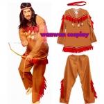 ร้านเช่าชุดแฟนซี ชุดอินเดียแดง ชุดคาวบอย ชุดคนป่าชุดธีม JUNGLE ชุดมนุษย์หินฟลิ้นสโตน 094-920-9400