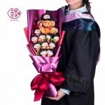 Preorder ช่อดอกไม้การ์ตูน มารูโกะจัง