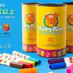Babyroo Non Toxic Washable Markers 24 color