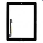 อะไหล่ไอแพด ทัชสกรีน New iPad 4 Ratina (สีดำ) แบบชุด
