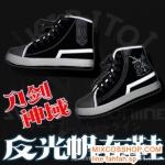 Preorder รองเท้าผ้าใบสะท้อนแสง sword art online