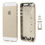 อะไหล่ไอโฟน5s เคสกลางไอโฟน 5S (สีทอง)