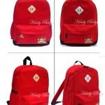 กระเป๋าเป้ Paul frank สีแดง