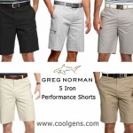 Greg Norman 5 Iron Performance Shorts