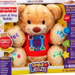 ตุ๊กตาหมี Fisher Price Learn & Sing Teddy