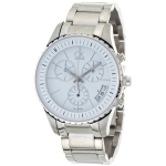 Calvin Klein K3217401 Mens White Dial Watch