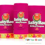 BabyRoo Silky Crayon (6 Colors) สีเครยอนมหัศจรรย์