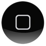 อะไหล่ไอแพด ปุ่ม Home นอก NewiPad 3 (สีดำ)