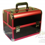 BEAUTY SECRET D Professional Cosmetic Case BX006 กระเป๋าใส่เครื่องสำอางค์(สีดำ)