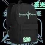 Preorder กระเป๋าเป้ Sword art online สกรีนเรืองแสง