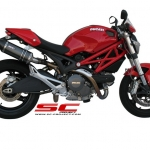 SC Project Oval Carbon for Ducati Monster 795/796