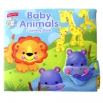 หนังสือผ้า Fisher-Price Baby Animal Counting Book