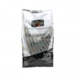 Valrhona Equatoriale Noire dark chocolate 55% แบ่งขาย 500 g
