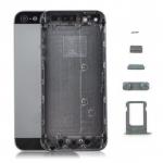 อะไหล่ไอโฟน5s เคสกลางไอโฟน 5S (สีดำ)