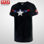 Preorder เสื้อยืด Captain America black ver2