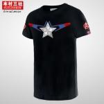 Preorder เสื้อยืด Captain America black ver2