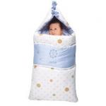ถุงนอนเด็กสำหรับฤดูหนาว Aprica Sleep Bag Winter สีฟ้า