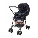 รถเข็นเด็ก Aprica รุ่น AirRia สีน้ำเงิน สำหรับเด็กแรกเกิด - 3 ปี หรือ น้ำหนัก 2.5 - 15 kg.