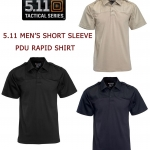 5.11 Men's Short Sleeve Pdu Rapid Shirt